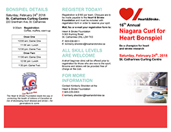 Curl for heart brochure